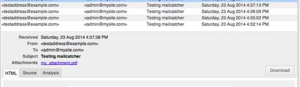 Mailcatcher, Vagrant & Laravel: Email testing made easy