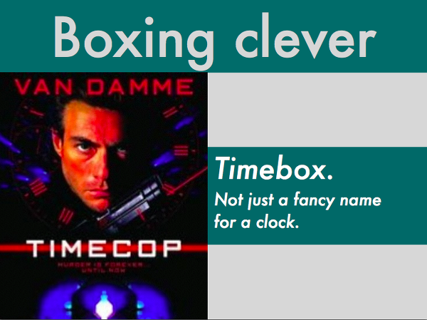 Boxing clever