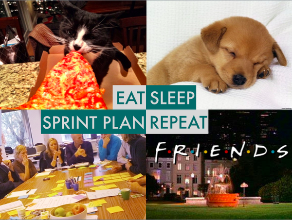 Eat, sleep, sprint plan, repeat